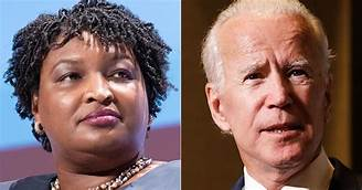 Who better for  VP for this US melting pot than the mother of all humans; a Black woman